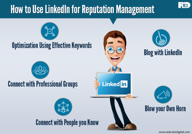 5 Smart Ways to Use LinkedIn for Reputation Management: RedCube Digital
