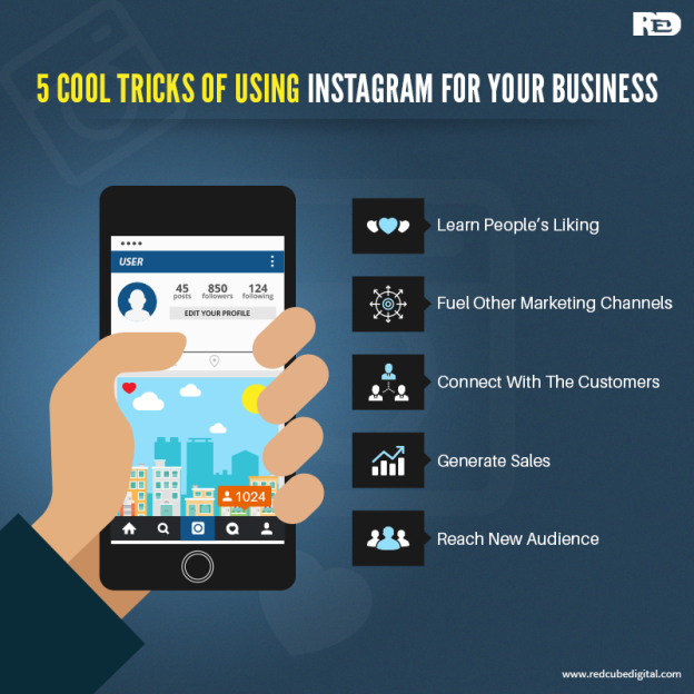 5 Cool Tricks of Using Instagram for Your Business