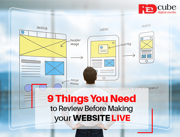 Things You Need to Review Before Making your Website Live