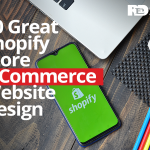 Great Shopify store ecommerce website design